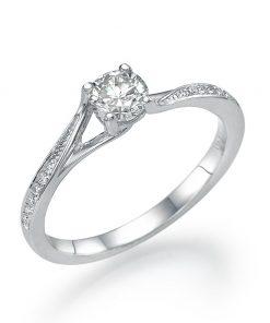 טבעת יהלומים ליה