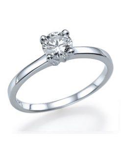 טבעת אירוסין, טבעת סוליטר, טבעת קלאסית, טבעת יהלום, ובעת הצעת נישואין, טבעת זהב לבן, לויס תכשיטים