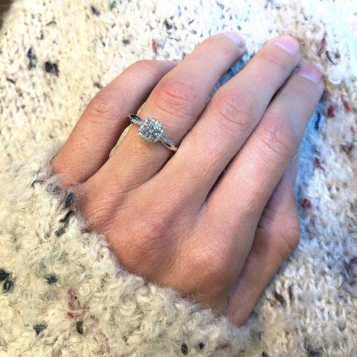 טבעת אירוסין לידור