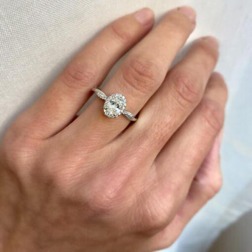 טבעת יהלום לורן