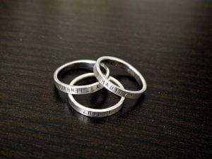 טבעת עם שם