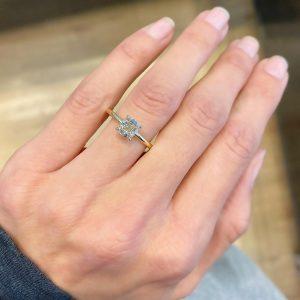 טבעת אירוסין הופ