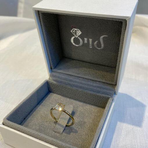 טבעת אירוסין מעוצבת